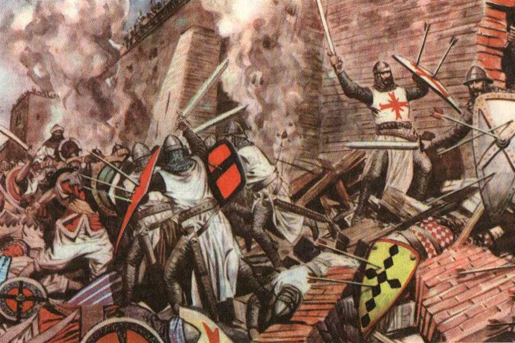 Assedio medievale – Le armi d'attacco