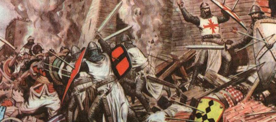 Scena di un assedio