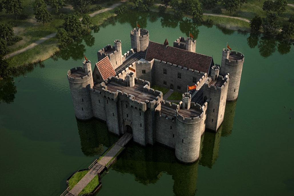 Il fossato - Assedio